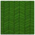 rug #1123091 | square green rug
