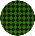 rug #1123143 | round green check rug