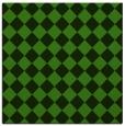 rug #1123151 | square green retro rug