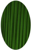 rug #1123235 | oval light-green rug