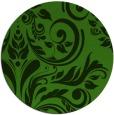 rug #1123263 | round light-green damask rug