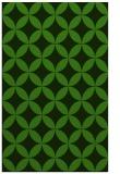 rug #1123339 |  green circles rug