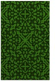 rug #1123359 |  light-green damask rug