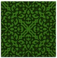 rug #1123371 | square light-green damask rug