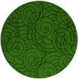 rug #1123403 | round light-green popular rug