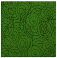 rug #1123411 | square light-green circles rug