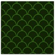 rug #1123571 | square green traditional rug