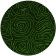 rug #1123663 | round green popular rug