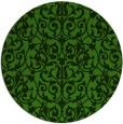 rug #1123683 | round light-green natural rug