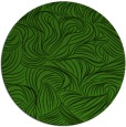 rug #1123703 | round light-green natural rug