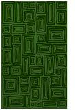 rug #1123799 |  light-green retro rug