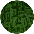 rug #1123803 | round light-green rug