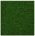 rug #1123811 | square light-green rug