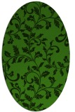 rug #1123815 | oval light-green natural rug