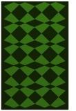 rug #1123859 |  light-green check rug
