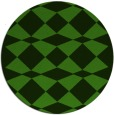 rug #1123863 | round light-green graphic rug