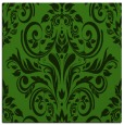 rug #1123971 | square light-green damask rug