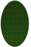 rug #1124016 | oval circles rug