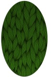 rug #1124435 | oval light-green rug