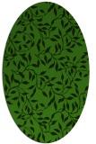 rug #1124455   oval light-green natural rug