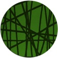 rug #1124483 | round green abstract rug