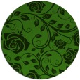 rug #1124583 | round light-green natural rug
