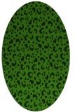 rug #1124715   oval light-green animal rug
