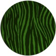 rug #1124803 | round green stripes rug