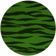 rug #1124863 | round light-green rug