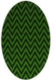 rug #1124875   oval light-green rug