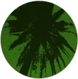 rug #1124903 | round green graphic rug