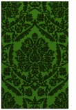 rug #1124939 |  green damask rug