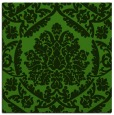 rug #1124951 | square light-green damask rug