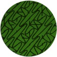 rug #1124983 | round light-green abstract rug