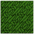 rug #1124991 | square light-green graphic rug