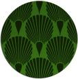 rug #1125003 | round light-green rug