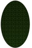 rug #1125038 | oval geometry rug
