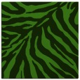rug #1125091 | square light-green animal rug