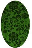 rug #1125135   oval light-green rug