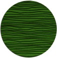 rug #1125423 | round green stripes rug