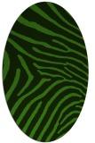 rug #1125515   oval light-green animal rug