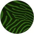rug #1125523   round green animal rug