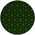 rug #1125643 | round green rug
