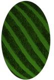 rug #1125655   oval light-green rug