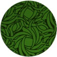rug #1125743 | round light-green abstract rug