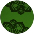 rug #1125863 | round light-green natural rug