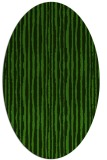 rug #1125915 | oval light-green rug