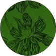 rug #1125943 | round light-green natural rug