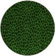 rug #1125963   round green animal rug