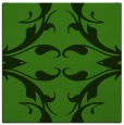 rug #1126071 | square light-green damask rug